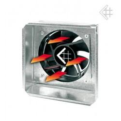 Zděř s ventilátorem 17x17 cm Kratki s čidlem/bez čidla