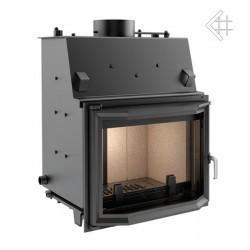 Kratki Zuzia 15 kW DIN teplovodní krbová vložka - prizmatické sklo