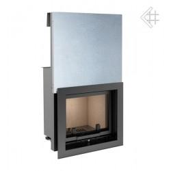 Kratki Zuzia 16 kW DIN teplovzdušná krbová vložka - otevírání nahoru