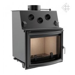 Kratki Zuzia 16 kW DIN teplovzdušná krbová vložka - panoramatické sko