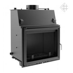 Kratki Amelia 30 kW teplovodní krbová vložka - čelní prosklení