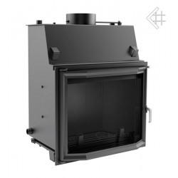 Kratki Amelia 24 kW teplovodní krbová vložka - prizmatické sklo