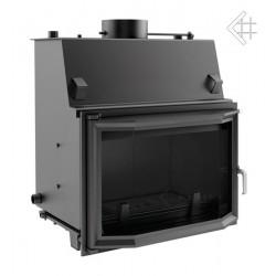Kratki Oliwia 22 kW teplovodní krbová vložka - prizmatické sklo