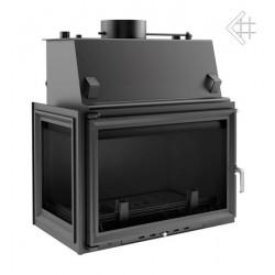 Kratki Oliwia 22 kW teplovodní krbová vložka - levé prosklení s...