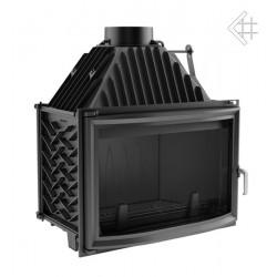 Kratki Oliwia 18 kW teplovzdušná krbová vložka - panoramatické sklo