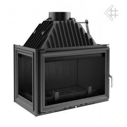 Kratki Oliwia 18 kW teplovzdušná krbová vložka - levé prosklení