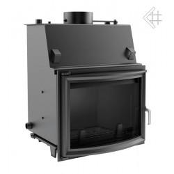 Kratki Zuzia 19 kW teplovodní krbová vložka - panoramatické sklo