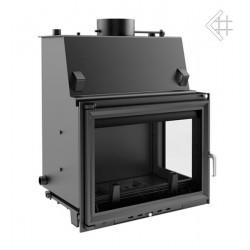 Kratki Zuzia 19 kW teplovodní krbová vložka - pravé prosklení +...
