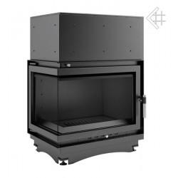 Kratki Zuzia 19 kW teplovodní krbová vložka - BS levé prosklení +...