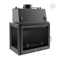 Kratki Zuzia 19 kW teplovodní krbová vložka - levé prosklení +...