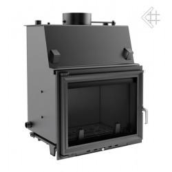 Kratki Zuzia 19 kW teplovodní krbová vložka - čelní prosklení