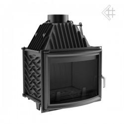 Kratki Zuzia 16 kW EKO teplovzdušná krbová vložka - panoramatické sklo