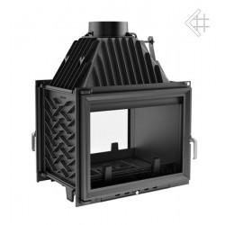 Kratki Zuzia 16 kW teplovzdušná krbová vložka - průhledová