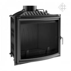 Kratki Felix 16 kW teplovzdušná krbová vložka - panoramatické sklo