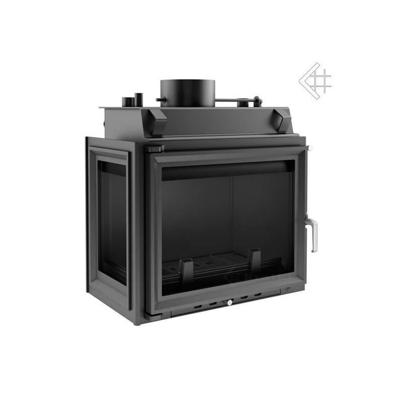 d62f86e505 Ocelovo-litinová krbová vložka s teplovodním pláštěm a chladící smyčkou