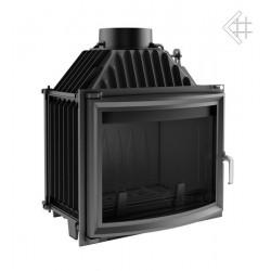 Kratki Maja 12 kW teplovzdušná krbová vložka - panoramatické sklo