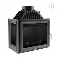 Kratki Maja 12 kW teplovzdušná krbová vložka - levé prosklení