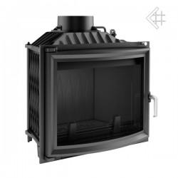 Kratki Antek 10 kW teplovzdušná krbová vložka - panoramatické sklo