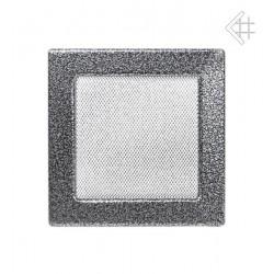 Ventilační mřížka - černostříbrná