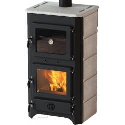 MBS Thermo Vulkan Plus krbová kamna černá/mastek